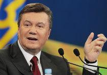 Пресс-конференция президента Украины Виктора Януковича