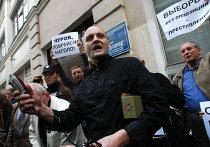 """Акция """"Фиктивные выборы – вне закона!"""" в Москве"""
