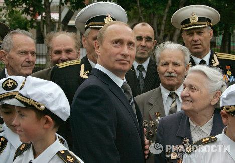 Президент России посетил Саранск