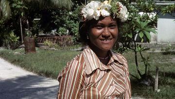 Полинезийская женщина