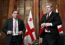 Канадский премьер-министр Харпер в Грузии