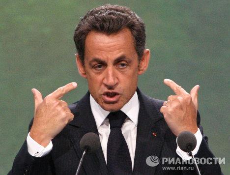Президент Франции Николя Саркози