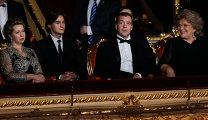 Д.Медведев на открытии исторической сцены Большого театра