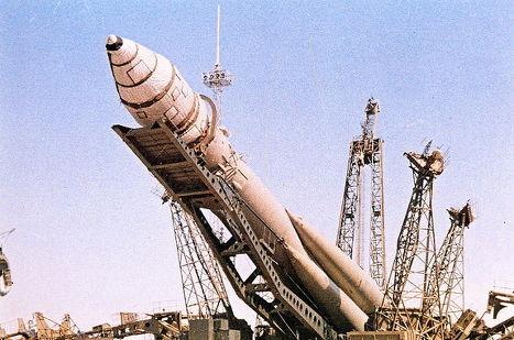 Знаменитые русские ракеты на старте