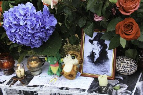 Фанаты Майкла Джексона в Москве