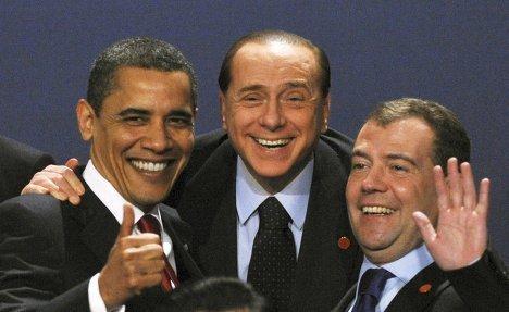 Сильвио Берлускони в разные годы политической карьеры