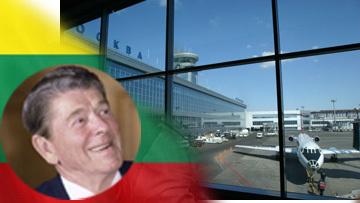 Рейган и Литва