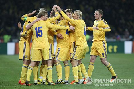 Футбол. Товарищеский матч. Украина – Германия