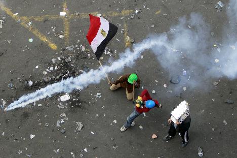 Столкновения на площади Тахрир в Египте