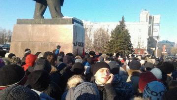 Массовая акция в Барнауле