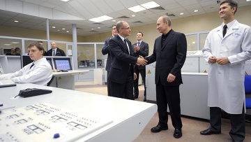 Рабочая поездка В.Путина в Центральный федеральный округ