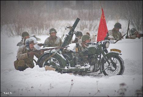 Реконструкция битвы за Москву