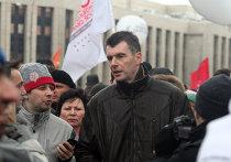 """Михаил Прохоров на митинге """"За честные выборы"""" в Москве"""