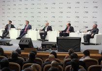 """Владимир Путин на инвестиционном форуме """"Россия 2012"""" в Москве"""