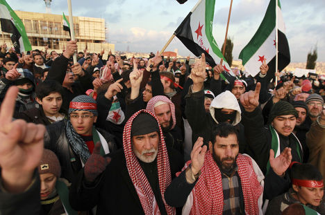 Выступления против Башара Асада