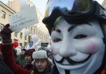 """Митинг и шествие """"За честные выборы"""" в Санкт-Петербурге"""