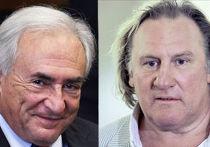 Доминик Стросс-Кан и Жерар Депардье