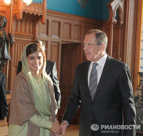 Встреча глав МИД России и Пакистана в Москве