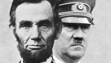 Авраам Линкольн и Адольф Гитлер
