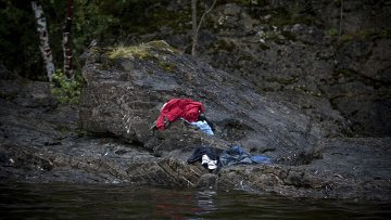 """Второй приз в номинации """" Spot News"""" шведского фотографа Никласа Хаммершторма"""