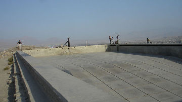 Бассейн времен СССР в Кабуле