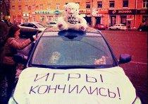"""Автопробег """"Белые улицы"""" в Москве"""