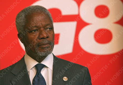 Генеральный секретарь ООН Кофи Аннан