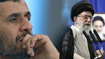 Махмуд Ахмадинежад и Али Хаменеи