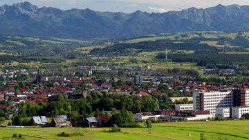 Панорама города Новый Тарг