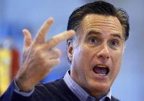 Митт Ромни выступает в штате Мэн