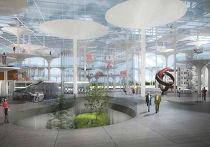 Проект музея в форме светящегося урбанистического леса. Автор итальянский архитектор и дизайнер Андреа Бранци совместно с мастерской 2А+P/A