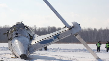 Крушение самолета ATR-72 под Тюменью