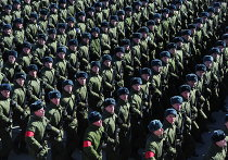 Репетиция Парада Победы в подмосковном Алабино