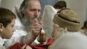 Празднование Рождества Христова в Москве