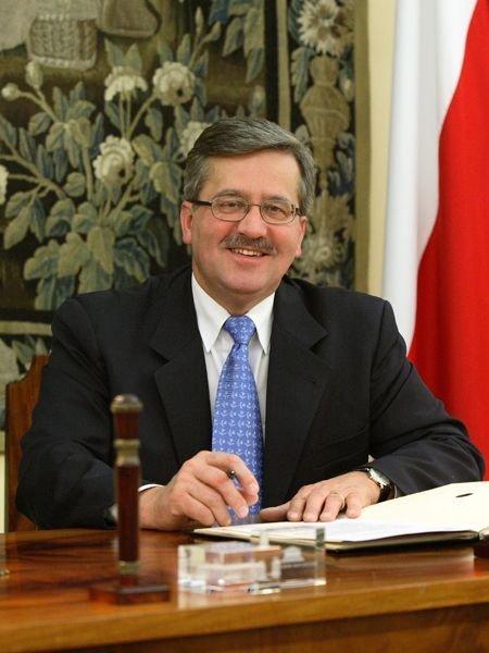 Бронислав Коморовский, председатель Сейма Польши, кандидат в президенты Польши.