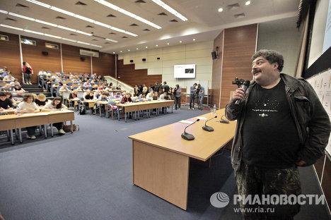 """Всероссийская акция """"Тотальный диктант"""" в Москве"""