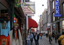 Амстердамский кофешоп