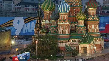 Репетиция парада Победы на Красной площади