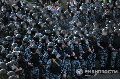 """Задержания участников митинга """"Марш миллионов"""" в Москве"""