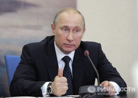 Рабочая поездка Владимира Путина в Южный федеральный округ