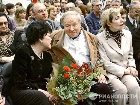 Б.Ахмадулина, А.Вознесенский, З.Богуславская
