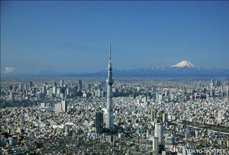Самая высокая в мире телебашня Tokyo Sky Tree