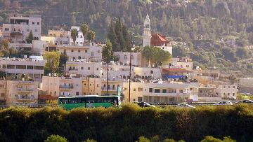 Деревня Абу Гош в Израиле