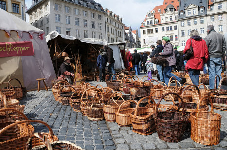 Праздник в стиле Средневековья: пасхальная ярмарка в Лейпциге