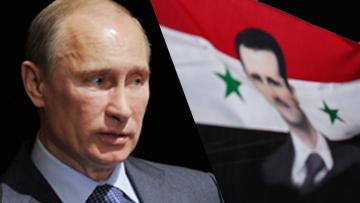 Владимир Птуин и Башар Асад