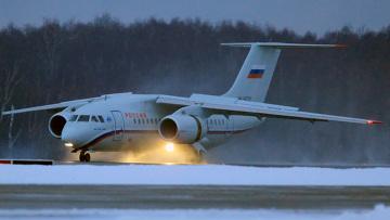Первый пассажирский рейс реактивного самолета Ан-148