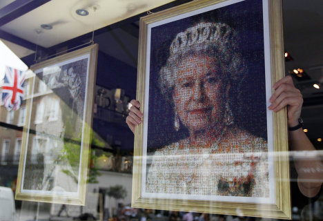 Подготовка к празднованию 60-летнего юбилея правления королевы Елизаветы II