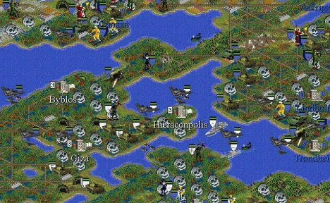 Скриншот игры «Цивилизация II»