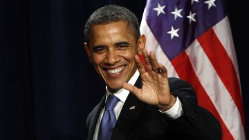 Барак Обама выступил в университете в Майами