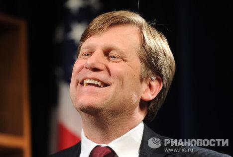 Интервью посла США в РФ Майкла Макфола
